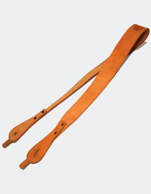 Ремень Карабинный плечевой (кожа)