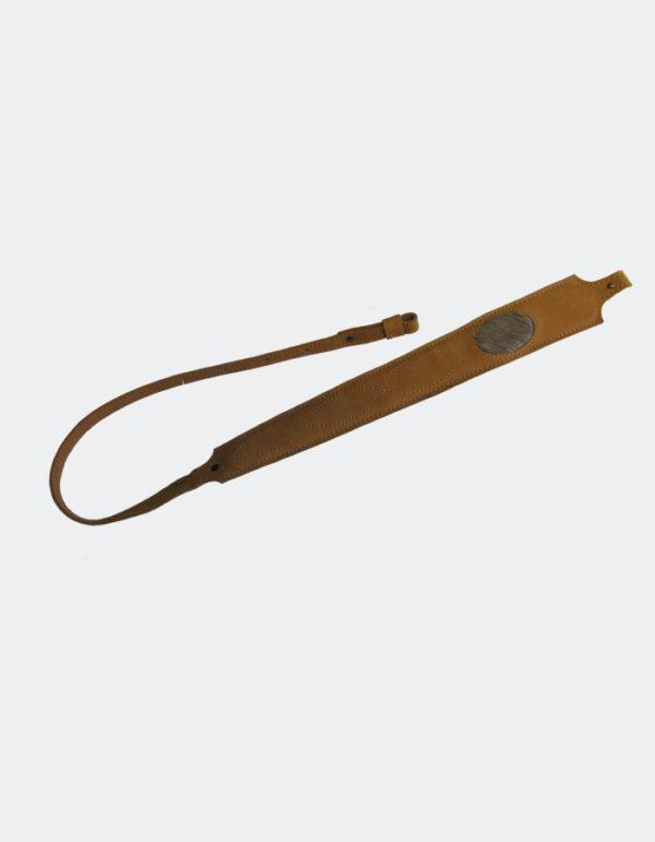 Ремень для ружья плечевой «Люкс» Декорированный (нат.кожа)