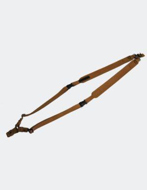 Ремень для ружья сдвоенный (нат.кожа)