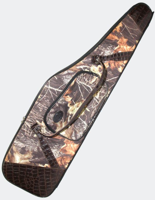 Чехол-коврик Хантер (декорированный) для ружья с оптикой 75-135 (кордура)