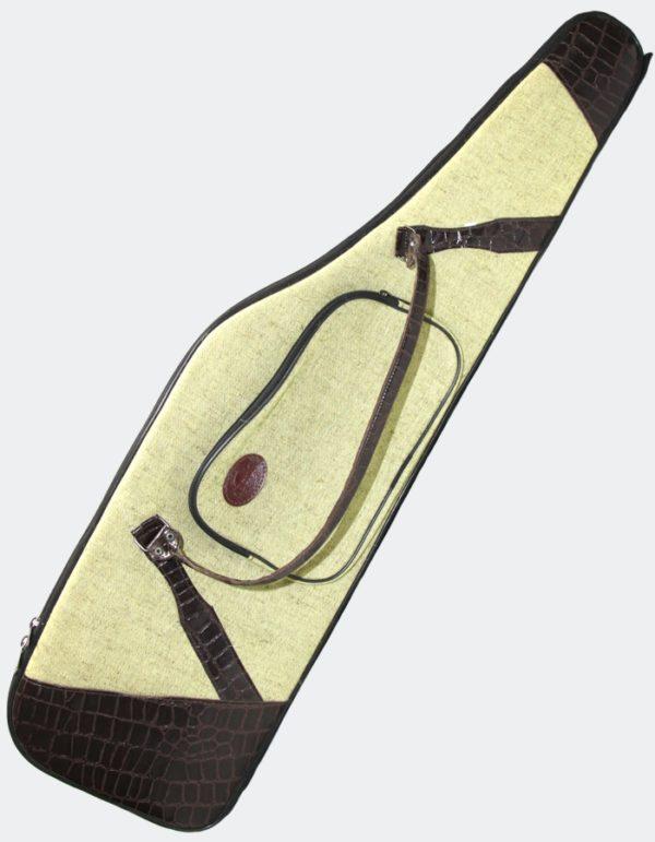 Чехол-коврик Хантер (декорированный) для ружья с оптикой 75-135 (лён)