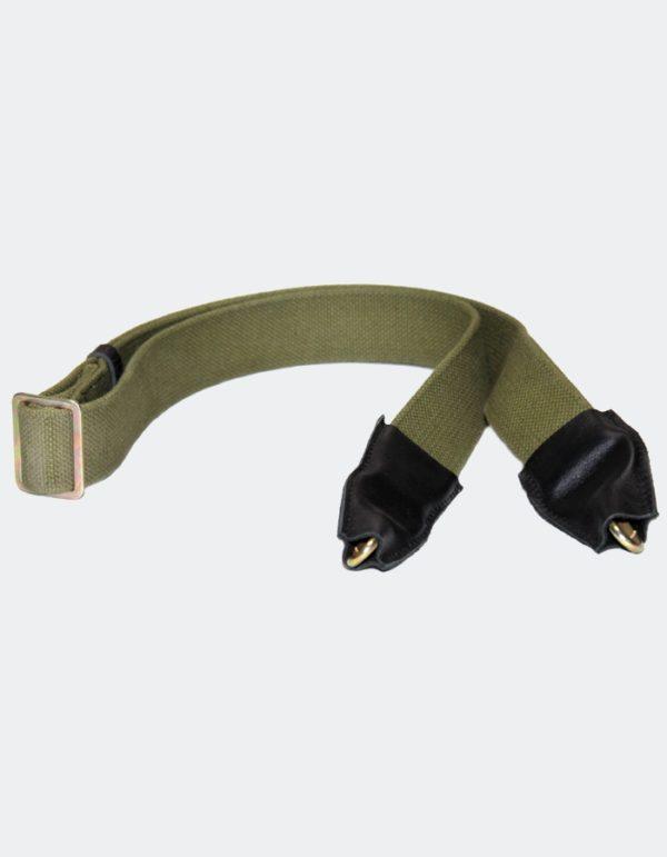 Ремень автоматный АК с 2 карабинами и противошумными чехлами (6ш5)