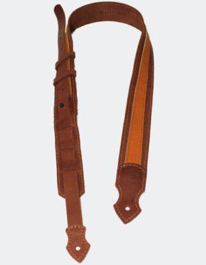 Ремень для гитары skin Brown